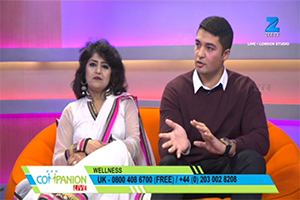 Zee Companion Live Seema Sharma